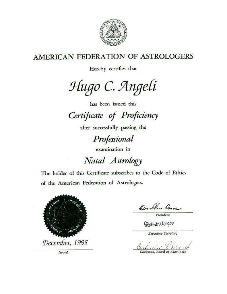 astrologo profesional